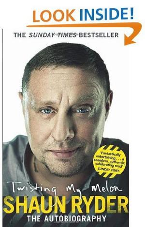 Twisting my melon av Shaun Ryder.Foto: Bantam Press