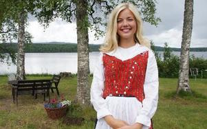 -- Jag väntar mig mycket skratt, säger årets Säterjänta Petra Runvik om sitt uppdrag i sommar.FOTO: SYLVIA KJELLBERG