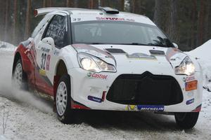 Thomas Thunström, Ludvika MS,  körde fort i SM-premiären och slutade femma i Trimmat 4wd.