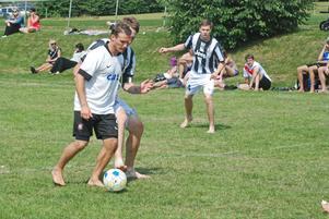 Juventus möter Real Madrid i Barfotacupen på Brunnsjöliden.