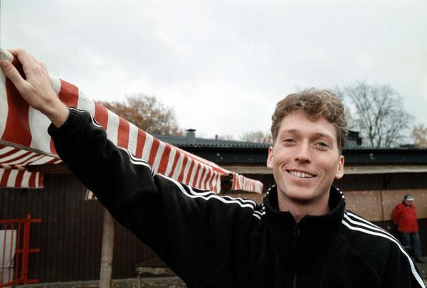 Håkan Sjöstrand 1998, då han spelade i Skiljebos A-lag.