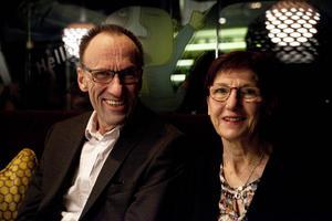 Lena och Lars-Håkan Jonasson var några av kvällens besökare.