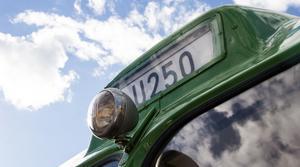U250 har varit en länk mellan landsbygd och centralort. Nu visas den historiska bussen upp på Summer Meet.