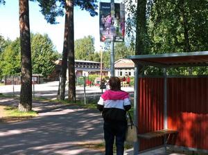 ... och på Centralvägen i Hosjö.