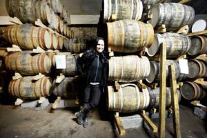 Mackmyrawhiskyn lagras främst på bourbonfat.