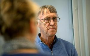 Jan-Olof Blomberg är med i Naturskyddsföreningen. Foto: Johnny Fredborg