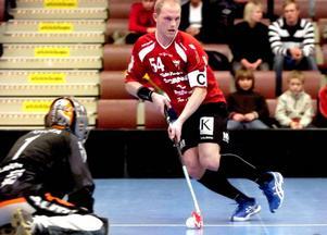 Osäker. Mattias Helgesson, som var IBF Faluns bästa poänggörare i elitserien, förhandlar med klubben om förlängt kontrakt.