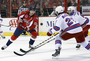 Nicklas Bäckström har gjort åtta säsonger i NHL, men aldrig nått längre än andra rundan i slutspelet. Även i år tog det stopp, i en sjunde och avgörande match mot New York Rangers.