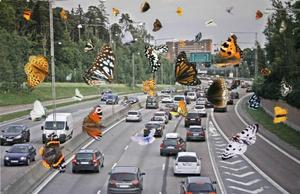 Tänk om alla motorvägar vore som den i verket