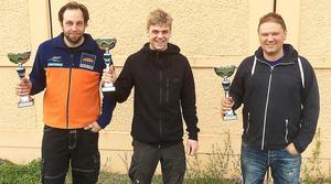 Bollnäs snabbaste lag bestod av Mikael Larsson, Alexander Jonsson och Mats Bertilsson.