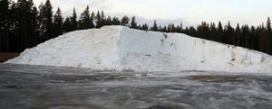 Den vita snöhögen på ÖSK är plötsligt guld värd. Nu vill hela skidvärlden till Östersund och det är bara att smida så länge snön är frusen, för den finns bara här.