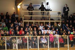 838 personer såg tisdagens match mellan Leksand och Skellefteå i Dunderhallen.