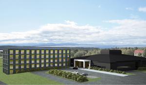 En ny hotelldel i fem våningar byggs och hotellet får även en stor spa och gym-avdelning. Namnet blir alltså Quality Hotel & Resort Frösö Park.