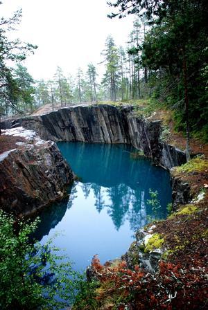 Östra Silvbergs gruva.