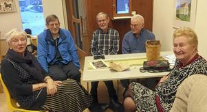 För Ingrid Badmans del uppstod vid SPF-mötet många kära återseenden då flera av hennes tidigare klasskamrater från Stora Tuna var närvarande.