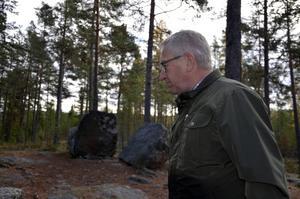 Håkan Sjöberg, historisk guide.