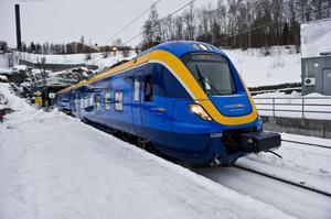 Sträng kyla stänger in tågen på Botnia- och Ådalsbanan.