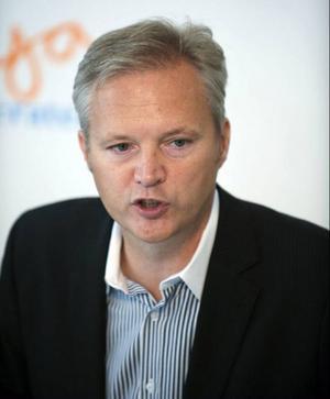 Sten Tolgfors, försvarsminister.