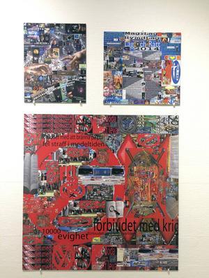 Åke Herrdins digitala bilder visas i ett eget rum i BoMo.