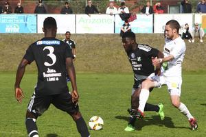 David Kuba-Kuba var Ånges bästa spelare i förlustmatchen mot Söderhamn.