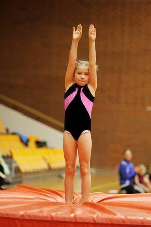 Matilda Lindvall sätter en perfekt landning