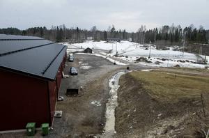 Ridhuset i Matfors stod klart för två år sedan.