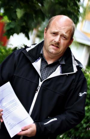 Jörgen Nordin har skickat ett brev till jordbruksminister Eskil Erlandsson.