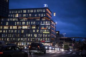 Kungsbrohuset, även kallat Schibstedhuset, i Stockholm som bland andra hyser Aftonbladet och Svenska Dagbladet.