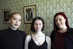 Linnea Dolk, Emelie Markgren och Zara Zeidlitz är tre unga dansare och koreografer från Hudiksvalls kommun som gått vidare inom dansen.