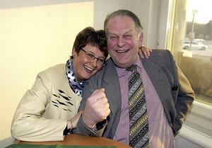 Maud Olofsson och Thorbjörn Fälldin 2002.