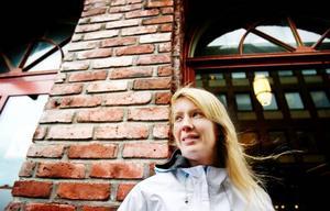 Anna-Maria kan intyga att skyttet varierar för både henne och storebror Mattias .Foto: Ulrika Andersson