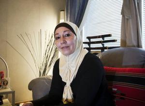 VILL HEM IGEN. Roshen Nashat har bott i Gävle i åtta år och drömmer om att med sin familj en dag kunna flytta hem till Irak igen.