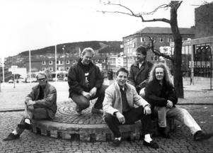 9. Back street Blues (?) på Stortorget. Återigen är anteckningarna på fotots baksida lite svårtydda.