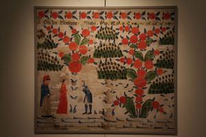 Muséet har en stor samling väggmålningar.