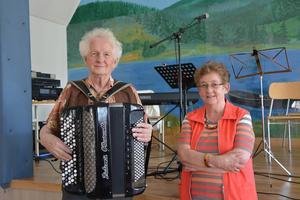 Jöns-Erik Olsson och Eva-Lena Appelgren från Ånge Senior Club.