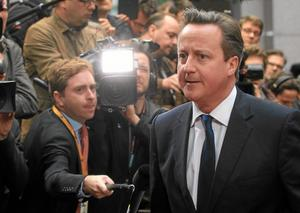 inte så smart. David Cameron driver demonstrationspolitik, snarare än smart diplomati. Arkivfoto: Yves Logghe/TT-AP
