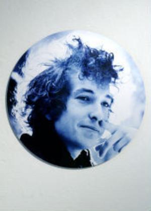 Många porträtt finns i Hasse Perssons USA-samlingar, bland andra en ung Bob Dylan.