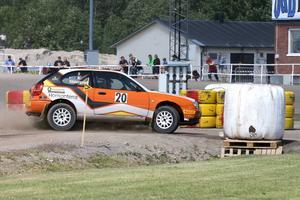 Tobias Söderqvist, Årsunda var överlägset snabbast i 2WD-klassen. Han vann med 3,5 sekunds marginal.