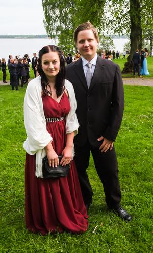 Pontus Svedberg och Jennifer Goode