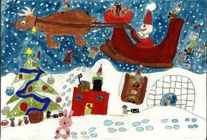 Andra pris 7-10 år: Filippa Agdler, 9 år, Frösön.