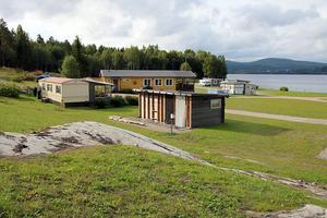 I princip all jord runt campingen har bytts ut.