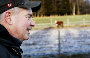 Anders Jörgensen säljer sitt kött direkt till konsumenter i Stockholm, Falun och Sundsvall.