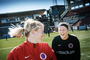 Marie Hammarström förblir lagkompis med Sara Larsson.