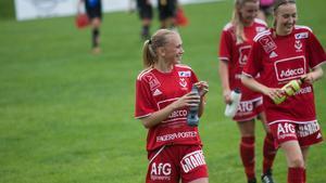 Moa Hjalmarsson stod för ett mål och en assist i segern.