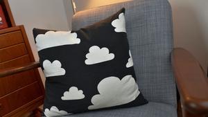 Gunilla Axén är en annan favorit. Det klassiska molnmönstret har inspirerat Johanna i hennes egen design.