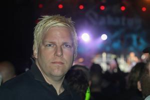 Johan Erdemark var nöjd och han har sett Sabaton ett tjugotal gånger sammanlagt, ett hardcore-fan av bandet.