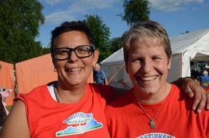 Zina Qvarnström och Madeleine Aaraas håller ihop arrangemangen.