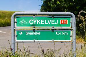 Vissa av cykelvägarna var tidigare gamla banvallar.   Foto: Milosz M/Shutterstock.com