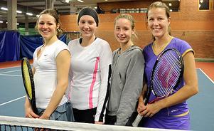 Anna Velica, Julia Berg, Sofia Ferding och Åsa Svensson.