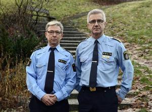 Leif Hemmingsson och Börje Öhman vid Sundsvallspolisen hade ett digert arbete efter tsunamin. Det späddes på med några grövre våldsbrott, bland annat dubbelmordet på Härnön.